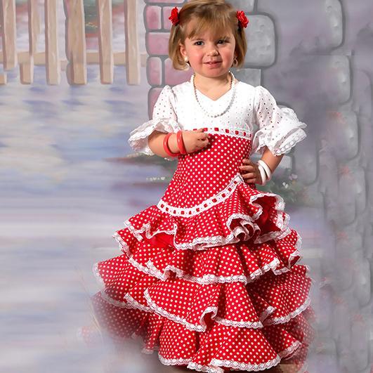 Trajes de flamenca infantil 16