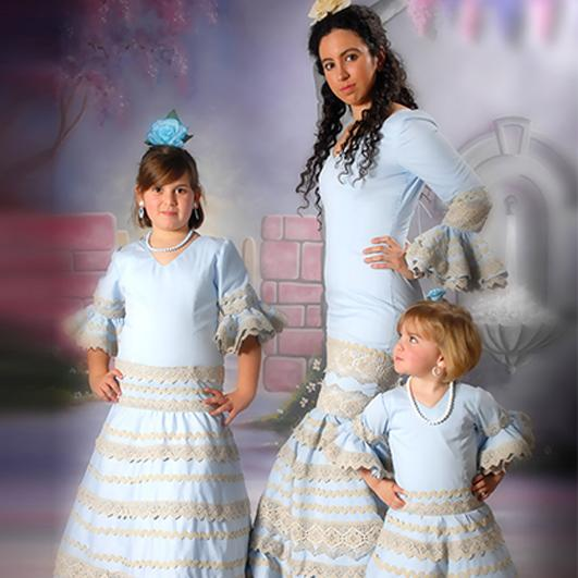 Trajes de flamenca infantil 21