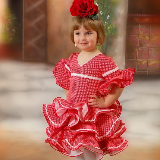 Trajes de flamenca infantil 14