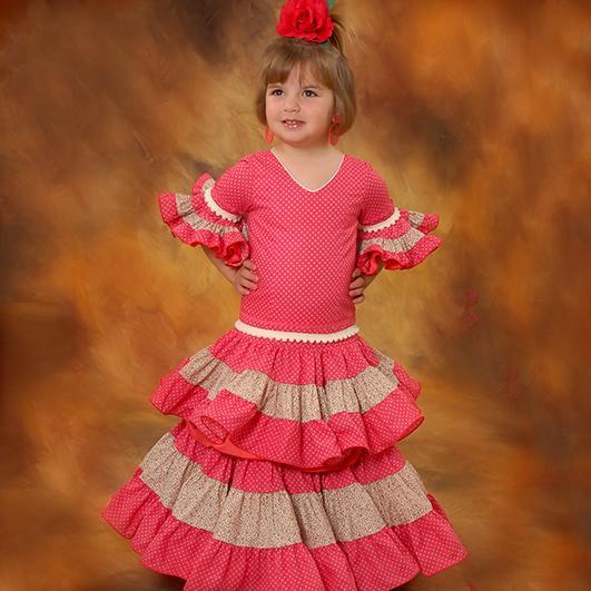 Trajes de flamenca infantil 19