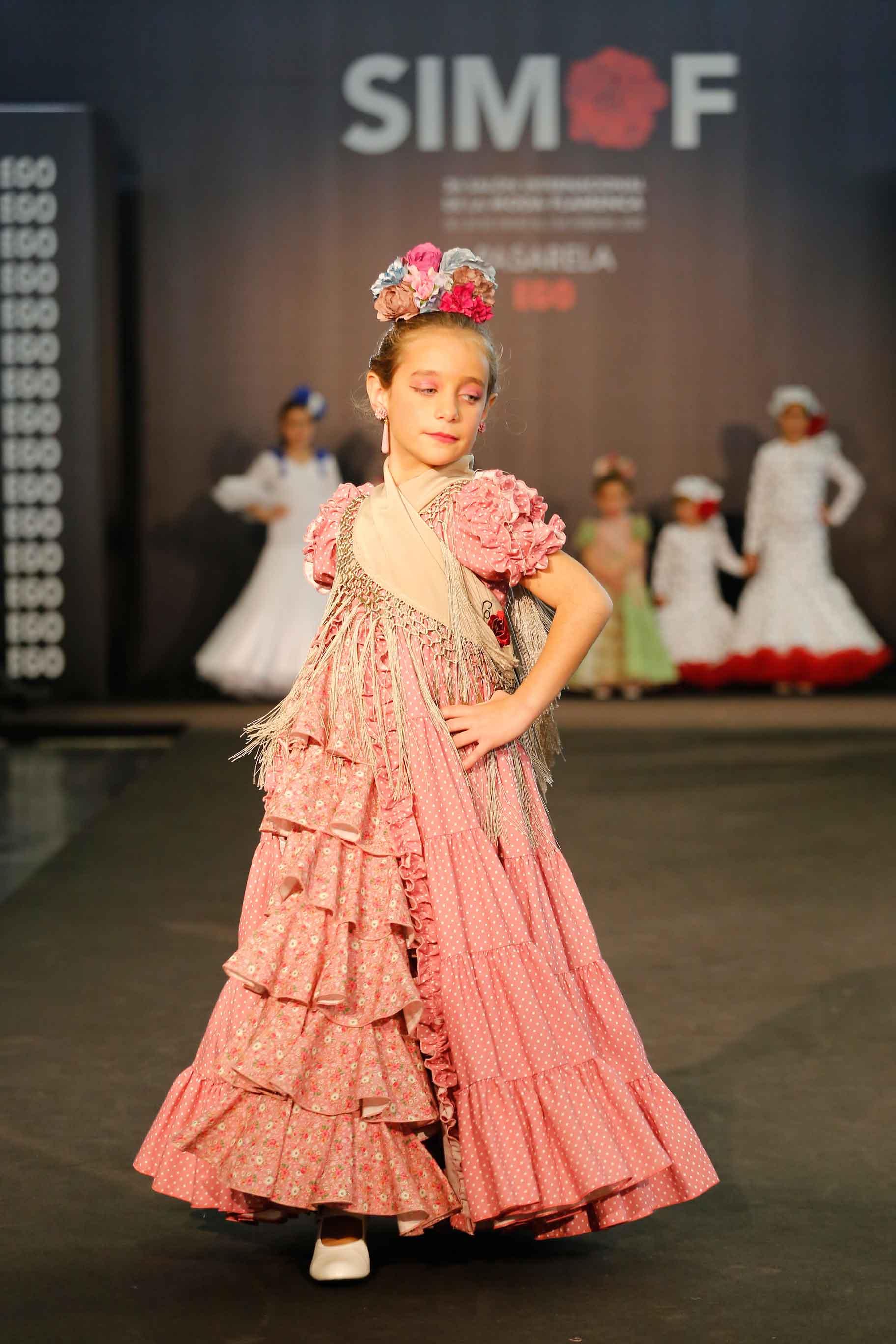 Vestido flamenca niña canastero