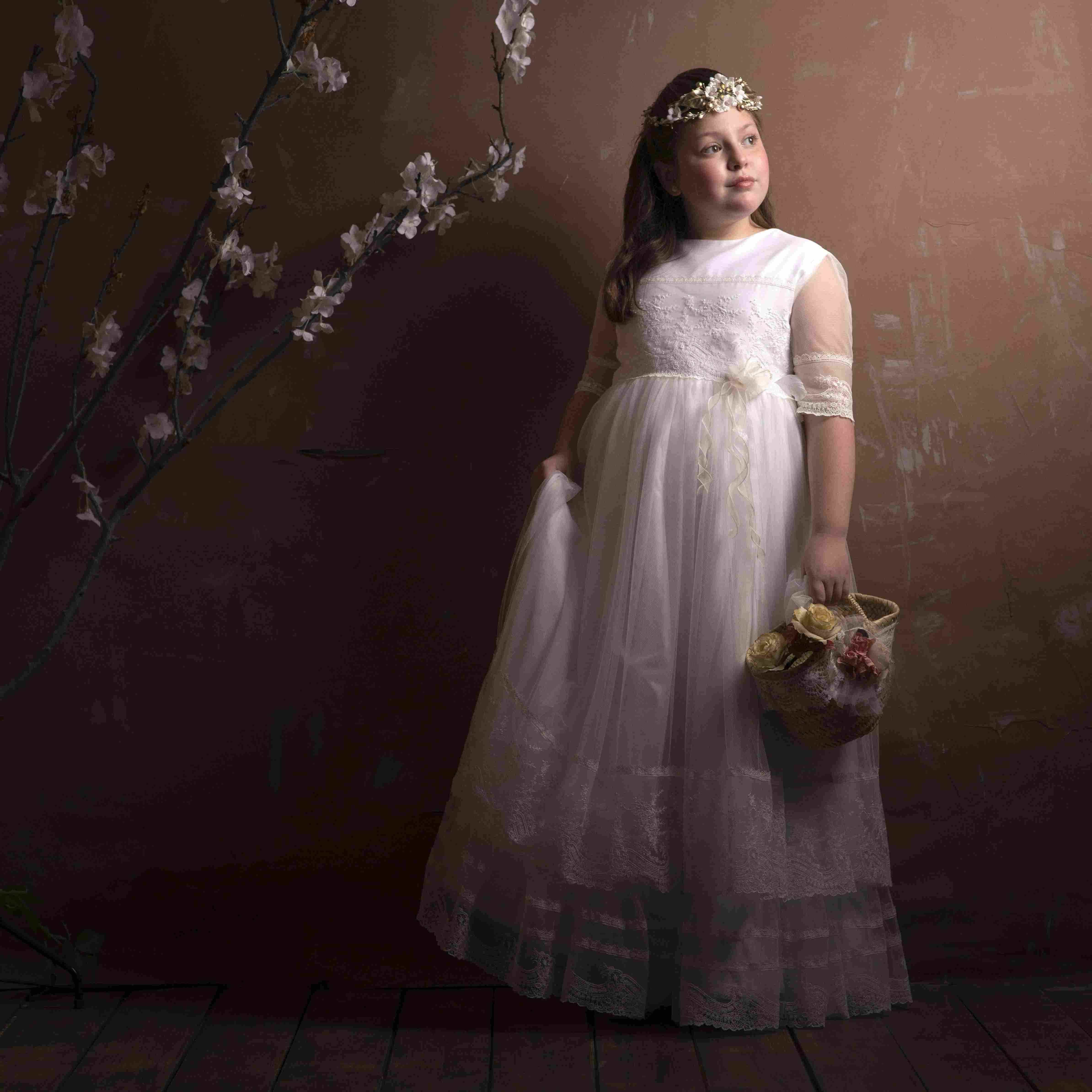 Vestidos de niñas de primera comunión