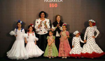 Desfile infantil de moda flamenca Carmen Latorre – Simof 2020