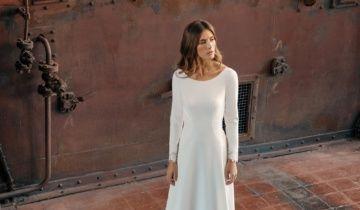 Tendencias para trajes de novias 2021: el triunfo de lo minimal