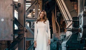 Glamour y elegancia en los vestidos de novia más sencillos