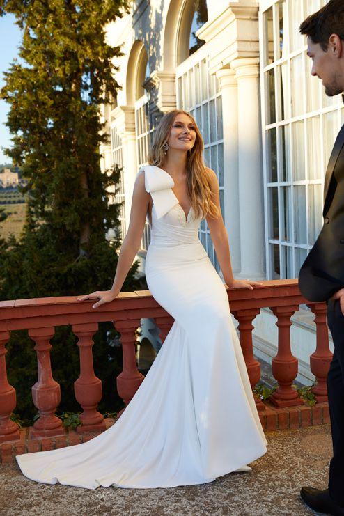 vestido de novia carmen larorre modelo denny
