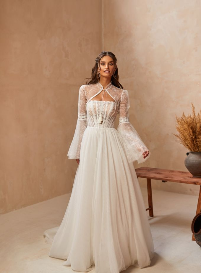 vestido de novia carmen latorre june